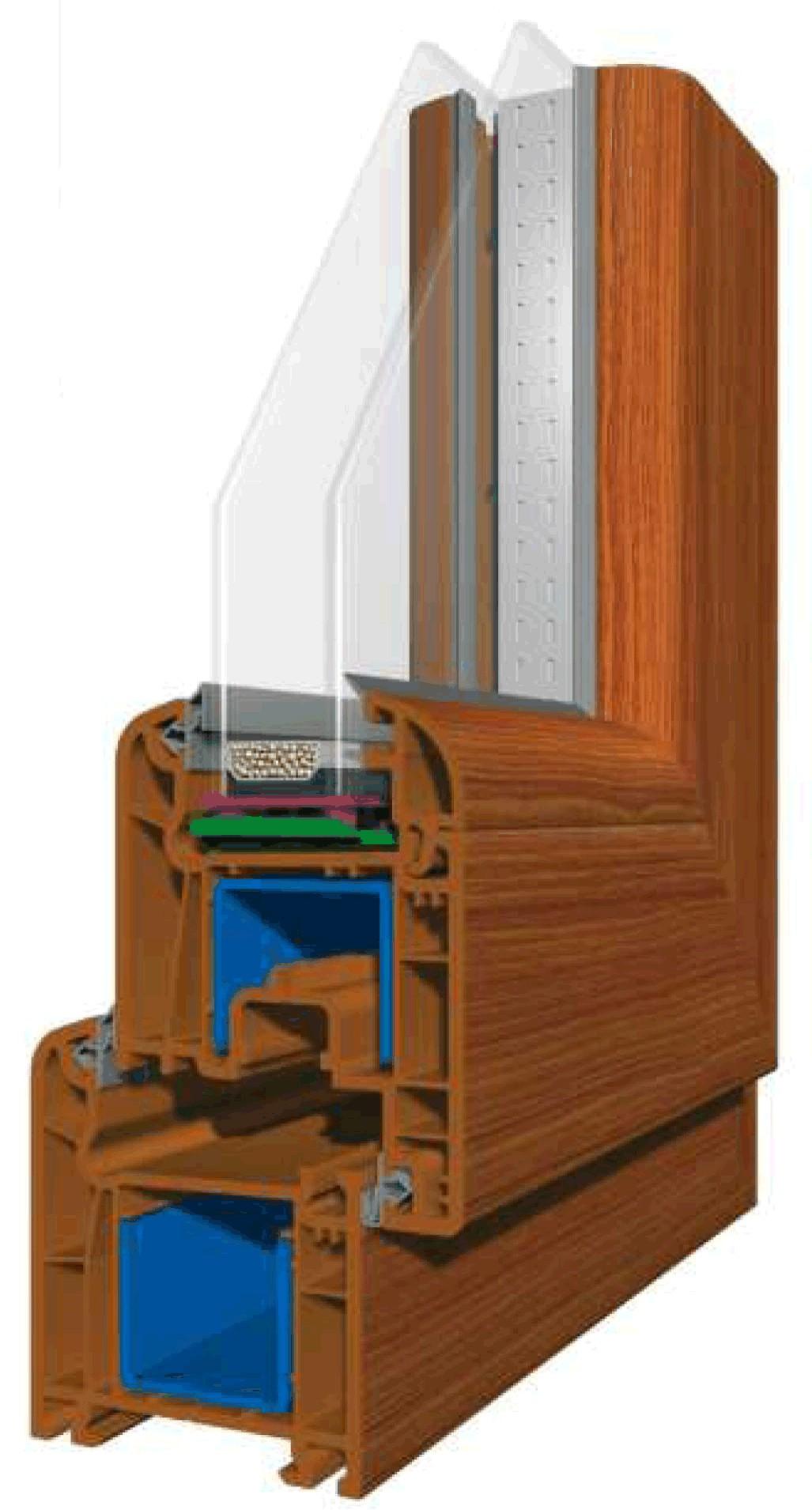 Viva plast wooden colours - Proactive Bg Vias Vivaplast_system_6400_wooden_colour