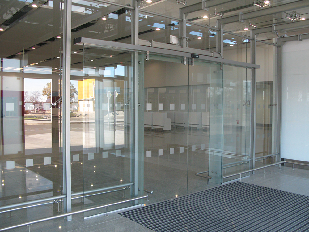 Automatic entrance doors 2
