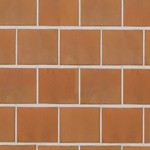 Clinker tiles cladding