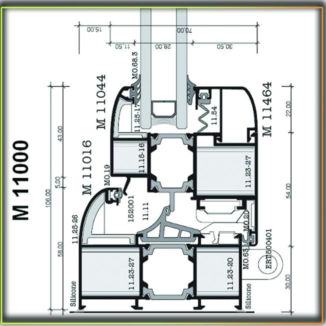 Alumil M11000 PS02